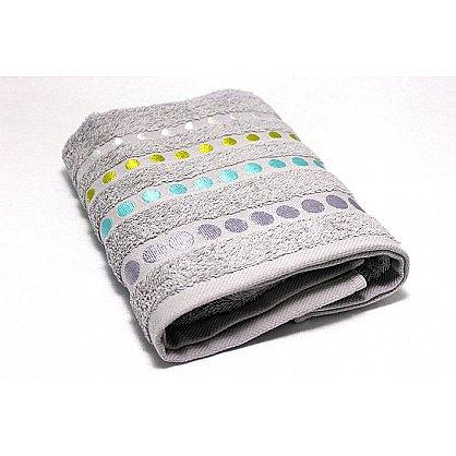 """Полотенце """"Диско"""" в новогодней упаковке, серый, 50*90 см (F-disco-s-50), фото 3"""