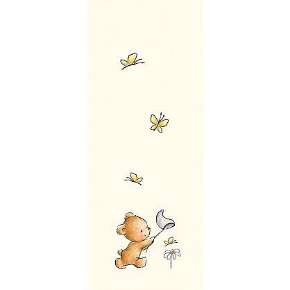 """Рулонная штора термоблэкаут """"Мишка c сачком"""", 68 см-A (d-103860-A), фото 3"""