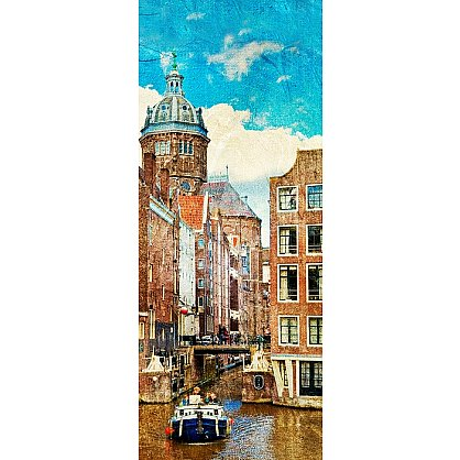 """Рулонная штора лен """"Амстердам"""", 68 см-A (d-103122-A), фото 3"""