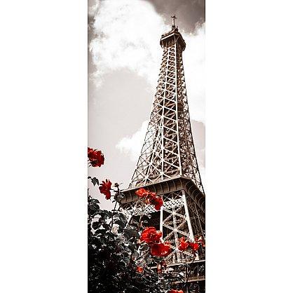 """Рулонная штора лен """"Весна в Париже"""", 62 см-A (d-103217-A), фото 2"""