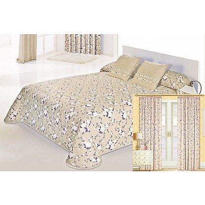 """Комплект для спальни """"Доминика"""", фиолетовые цветы (n-100023), фото 1"""
