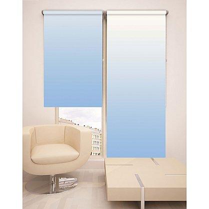 Рулонная штора ролло №264, голубой, 60 см (dr-100128), фото 2