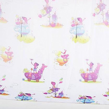 """Шторы """"Карусель"""", детская фантазия -1, фиолет (KRS-dff1), фото 2"""