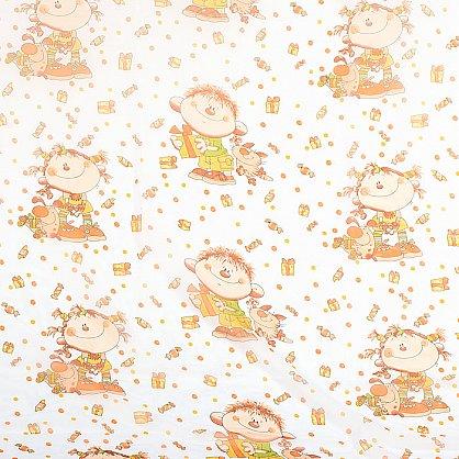 """Шторы """"Карусель"""", детская фантазия -2, коричневый (KRS-dfk2), фото 3"""