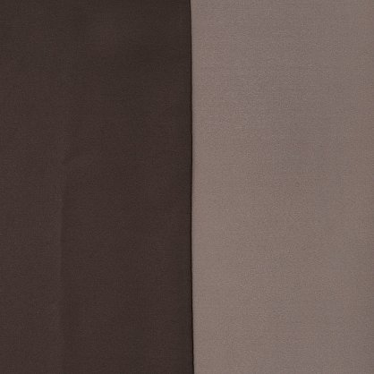 Комплект штор №027, коричневый, какао, светло-бежевый (rt-100239), фото 4