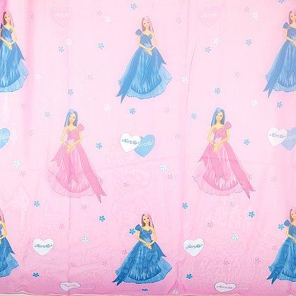 "Шторы ""Карусель"", Барби на розовом (KRS-barbi-roz), фото 2"