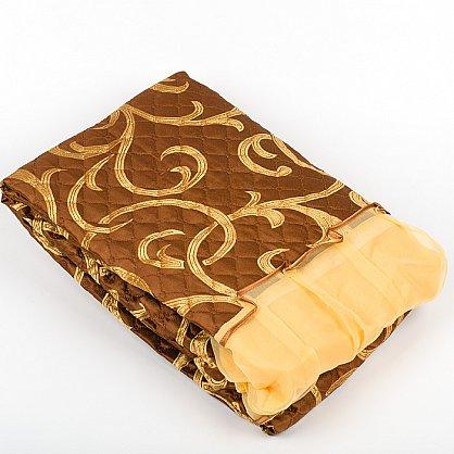коричневый с золотым завтком