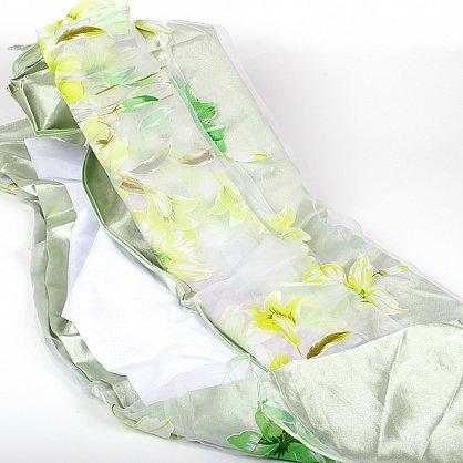 эеленый-зеленая лилия