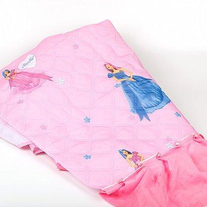 """Покрывало детское """"Карусель"""", Барби на розовом (KR-120 br), фото 4"""