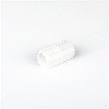 Соединитель трубы для карниза, белый (df-100021), фото 1