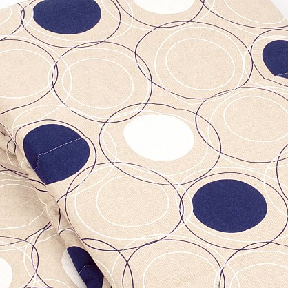 """Покрывало  """"Доминика-240"""", синие круги (НПД-240-KS), фото 2"""