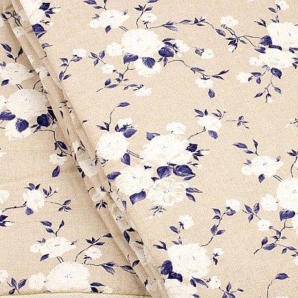"""Покрывало  """"Доминика-240"""", синие цветы (НПД-240-s), фото 2"""