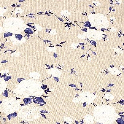 """Покрывало  """"Доминика-240"""", синие цветы (НПД-240-s), фото 3"""