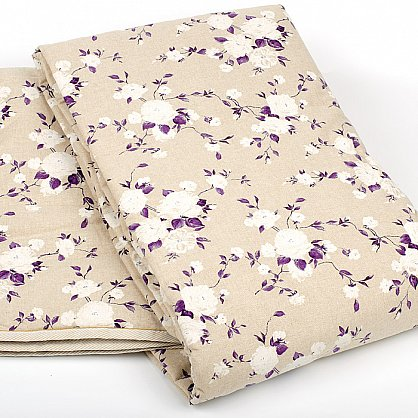 """Комплект для спальни """"Доминика"""", фиолетовые цветы (n-100023), фото 5"""