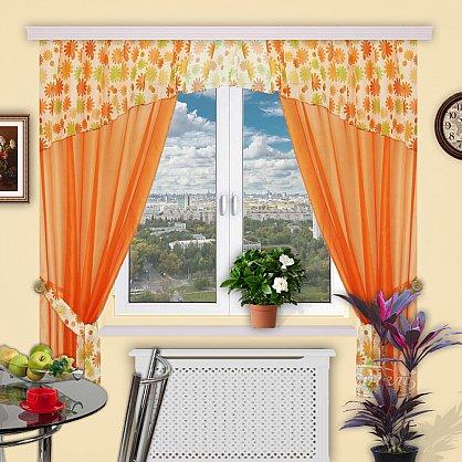 """Комплект штор """"Сказка"""", дизайн 151 (sn-101518), фото 1"""