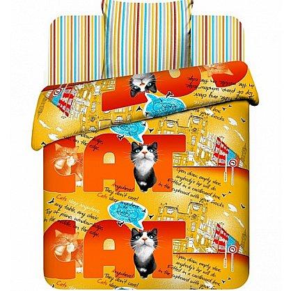"""Комплект постельного белья """"Мистер Кэт"""" 3641 (102172), фото 1"""