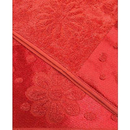 """Набор полотенец """"Florans"""",красный, 2 шт. (F-florans-kr), фото 3"""