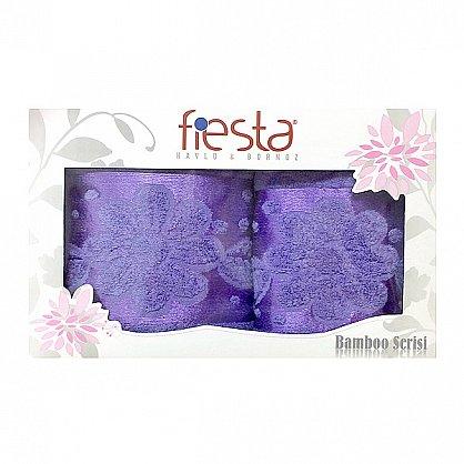 """Набор полотенец """"Florans"""", фиолетовый, 2 шт. (F-florans-f), фото 1"""