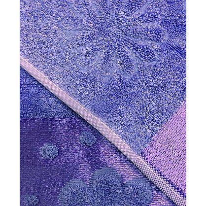 """Набор полотенец """"Florans"""", фиолетовый, 2 шт. (F-florans-f), фото 3"""