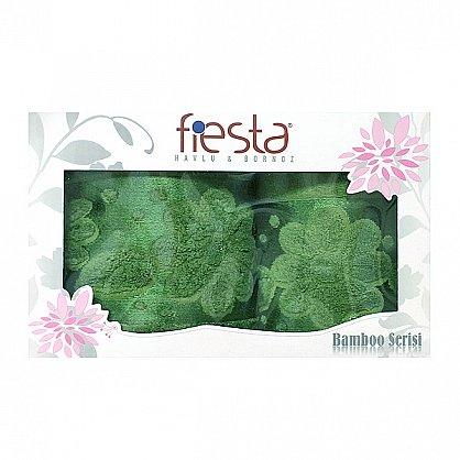 """Набор полотенец """"Florans"""", зеленый, 2 шт. (F-florans-zel), фото 1"""