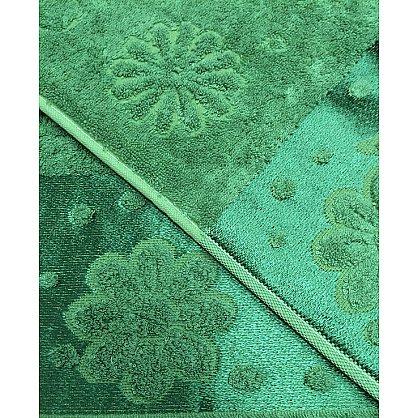 """Набор полотенец """"Florans"""", зеленый, 2 шт. (F-florans-zel), фото 3"""