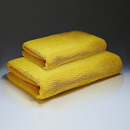 "Полотенце махровое ""Палитра"", желтый 50*90 см (pl-p-z-50), фото 1"