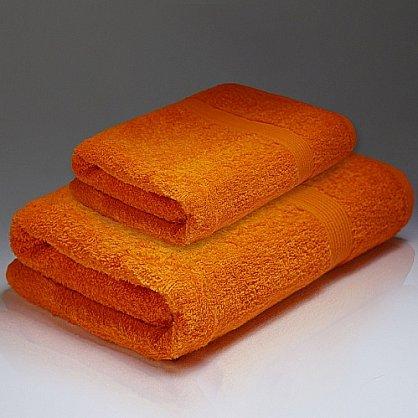 """Полотенце махровое """"Палитра"""", оранж 70*130 см (pl-p-o-70), фото 1"""
