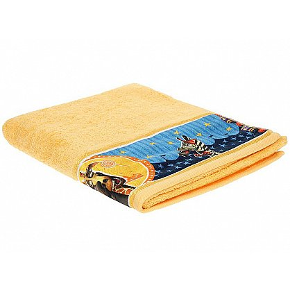 "Полотенце махровое 35*70 ""Непоседа"" Мадагаскар Мелман желтый (218690), фото 1"
