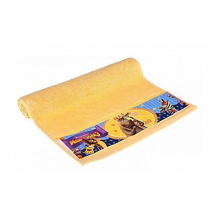 "Полотенце махровое 35*70 ""Непоседа"" Мадагаскар Мелман желтый (218690), фото 2"