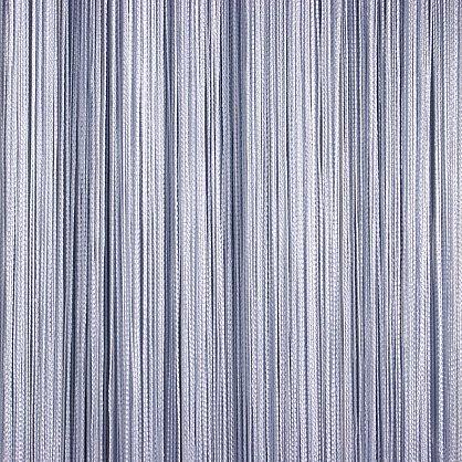 Кисея нитяная штора на кулиске однотонная - Серебро (C7), фото 1