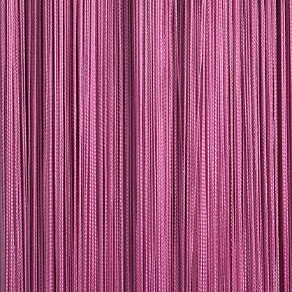 Кисея нитяная штора на кулиске однотонная - Фуксия (C6), фото 1