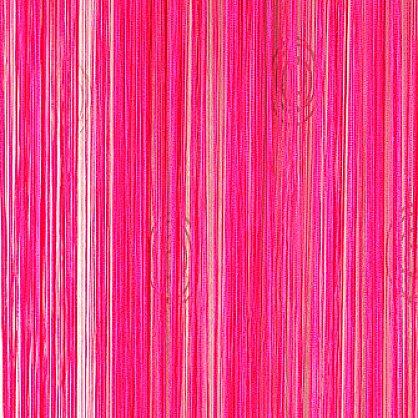 Кисея нитяная штора на кулиске однотонная - Малиновая (C20), фото 1