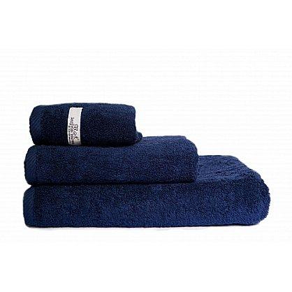 """Полотенце махровое """"Буржуа"""", синий  70*130 см (pl-b-s-70), фото 1"""