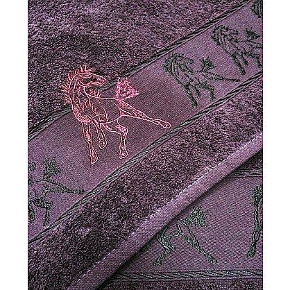 "Набор полотенец ""Мустанг"", фиолет, 2 шт. (F-mustang-fiol), фото 2"