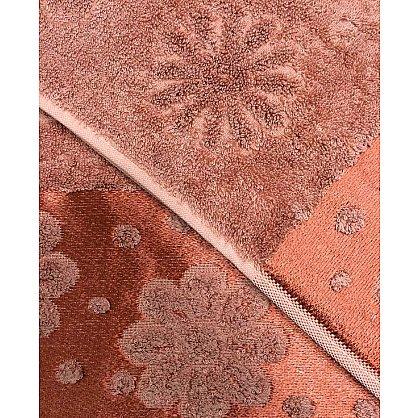 """Набор полотенец """"Florans"""", кирпичный, 2 шт. (F-florans-kir), фото 2"""