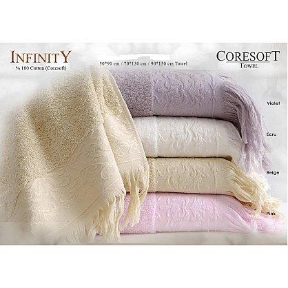 Полотенце махровое Infinity Розовое 50*90 см (I-Pembe-50), фото 2