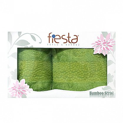 """Набор полотенец """"Soffi"""", зеленый, 2 шт. (F-soffi-zel), фото 1"""