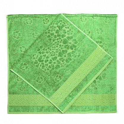 """Набор полотенец """"Soffi"""", зеленый, 2 шт. (F-soffi-zel), фото 2"""