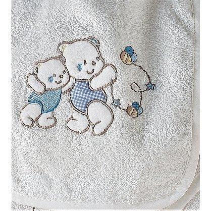 """Набор махровый детский """"KARNA BABY CLUP"""" на 1-3 года, кремовый-v2 (kr-103402), фото 2"""