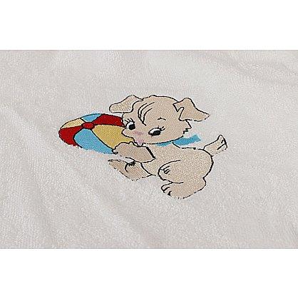 """Халат бамбук детский """"PUPILLA KIDS"""" на девочку, крем (kr-200467-gr), фото 2"""