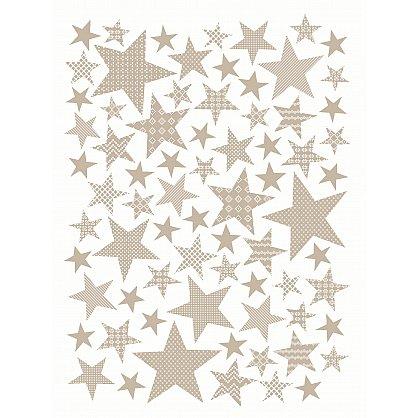 "Плед хлопок ""KARNA STARS"", бежевый (kr-200711-gr), фото 4"