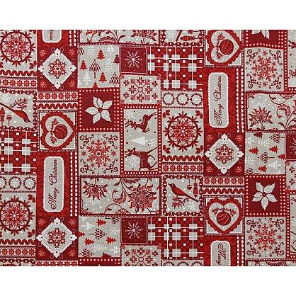 """Скатерть """"Tirol"""", дизайн 670-A (kf-100667-A), фото 3"""