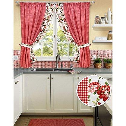 "Комплект штор на тесьме ""Red Kimberly-S"", дизайн 175 (kf-120215175), фото 1"