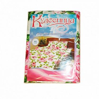 """Комплект постельного белья """"Розовый пион-3"""" 3091-3 (1.5 спальное) (063285), фото 2"""