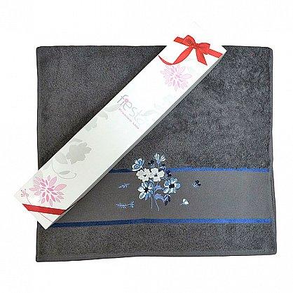 """Полотенце """"Сакура""""  50*90 в подарочной упаковке, бирюза (F-sakura-bir), фото 6"""