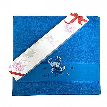 """Полотенце """"Сакура""""  50*90 в подарочной упаковке, бирюза (F-sakura-bir), фото 4"""