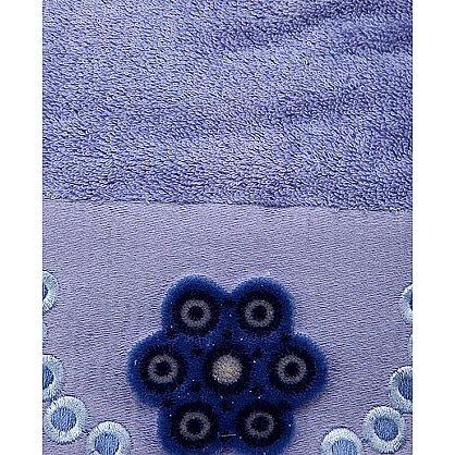 Полотенце Aden, синий 70*140 (2000000000343-sin), фото 2
