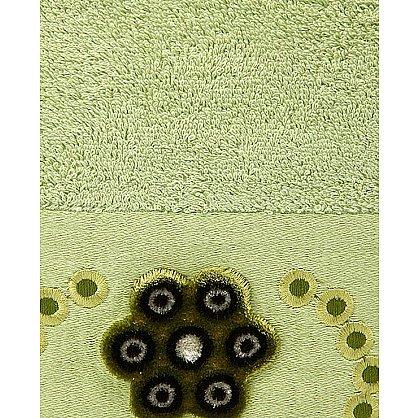 """Набор полотенец """"ADEN"""", зеленый, 2 шт. (F-aden-zelenyj), фото 2"""