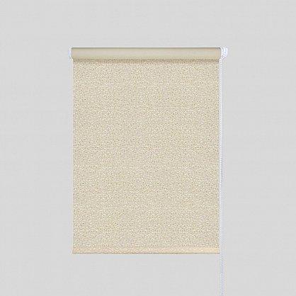 """Рулонная штора """"Блэкаут Кристалл"""", крем (lg-200002-gr), фото 1"""