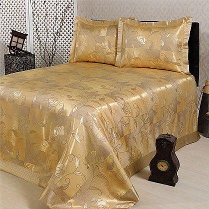 Покрывало Nazsu Akasya, золотой, 240*260 см (mt-100719), фото 1